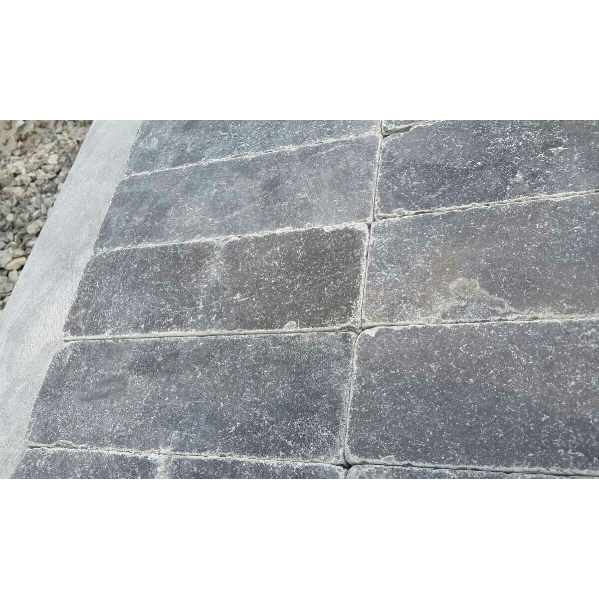 "Chinese Bluestone 3""x9"" Antique Blue color Limestone"