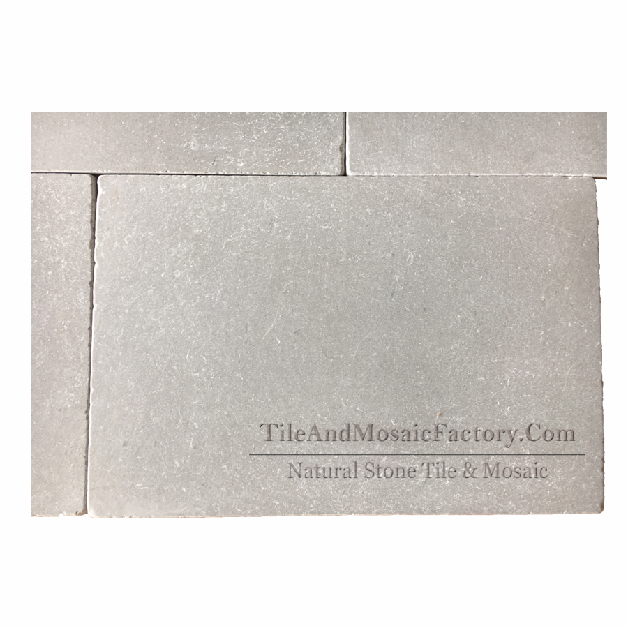 Starlight 500x751mm Tumbled Antique Grey Limestone Tile