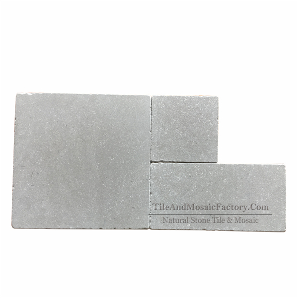 Starlight Versailles Pattern Tumbled Antique Grey Limestone Model 3
